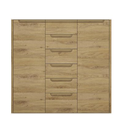 House Additions Burrell 2 Door 6 Drawer Cabinet