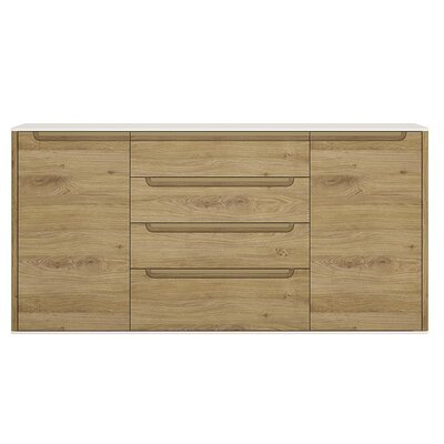 House Additions Burrell 2 Door 4 Drawer Sideboard