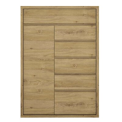 House Additions Hyland 1 Door 6 Drawer Cabinet