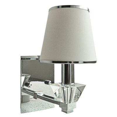 House Additions Intense 1 Light Semi-Flush Wall Light