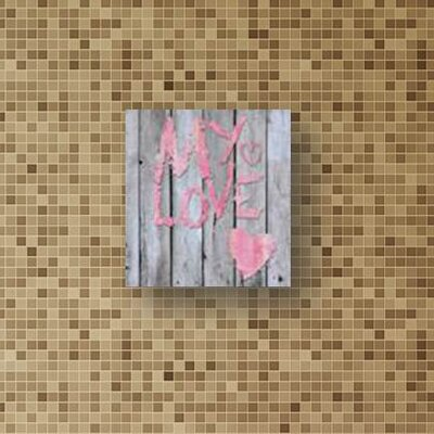 House Additions My Love Wall Decor