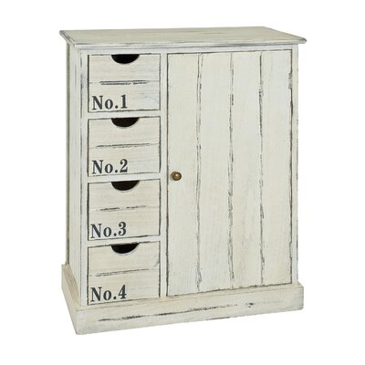 House Additions 1 Door 4 Drawer Combi Chest