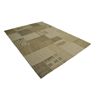 House Additions Lavalpatch Handmade Natural Area Rug