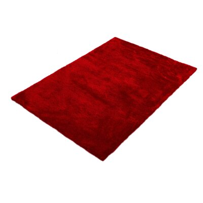 House Additions Vienne Coral Red Area Rug