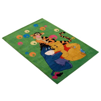 House Additions Loire Green Area Rug