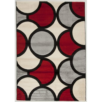 House Additions Melun Grey Area Rug