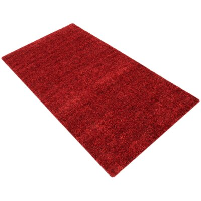 House Additions Vienne Elegance Red Area Rug
