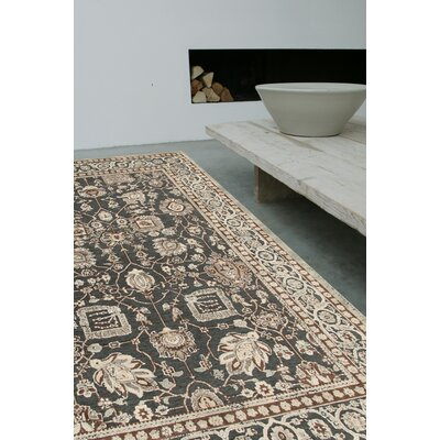 House Additions Tremblay Beige/Black Area Rug