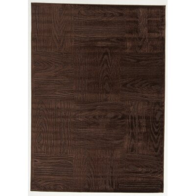 House Additions Agen Brown Area Rug