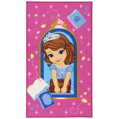 House Additions Fairytale Pink/Blue Area Rug