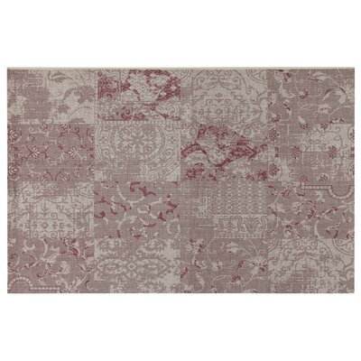 House Additions Auxerre 1 Purple Area Rug