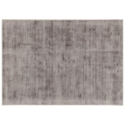 House Additions Trappes Handmade Dark Grey Area Rug