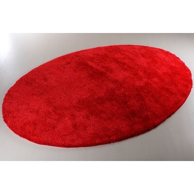 House Additions Vienne Como Red Area Rug