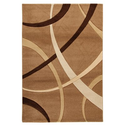 House Additions Reze Beige/Brown Area Rug