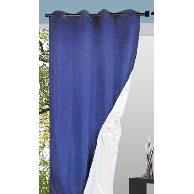 House Additions Blackout Single Curtain Panel
