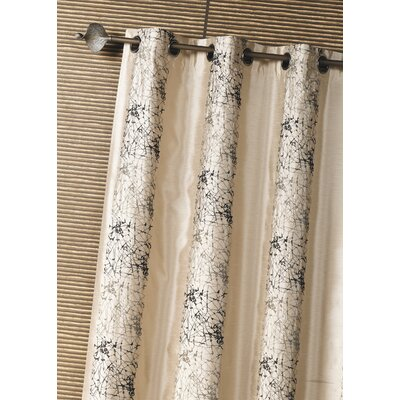House Additions Shantung Single Curtain Panel