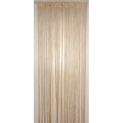 House Additions Mercerised Sewing Thread Single Curtain Panel