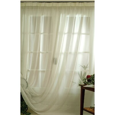 House Additions Sand Effect Single Curtain Panel
