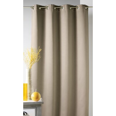 House Additions Obscuring Single Curtain Panel