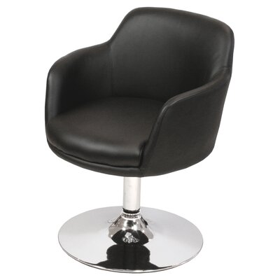 House Additions Donnino Swivel Barrel Chair