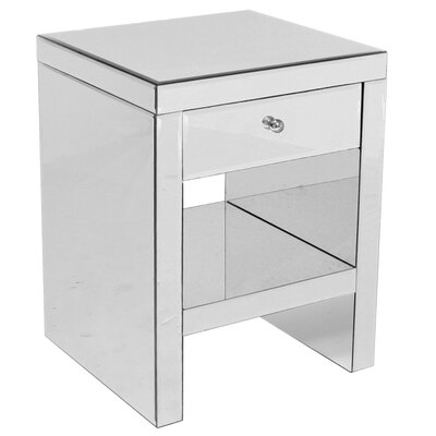 House Additions Tomba 1 Drawer Bedside Table
