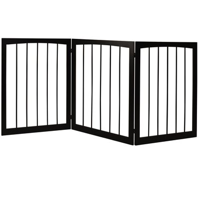 House Additions 3 Section Folding Pet Gate