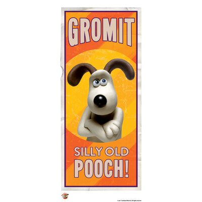 House Additions Wallace and Gromit Silly Old Pooch Vintage Advertisement