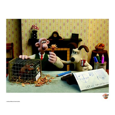 House Additions Wallace and Gromit It Doesn't Work Vintage Advertisement