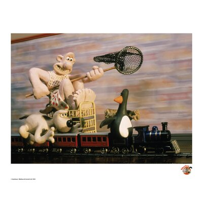 House Additions Wallace and Gromit The Chase Vintage Advertisement