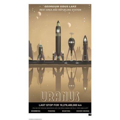 House Additions Retro Futurism Uranus Vintage Advertisement