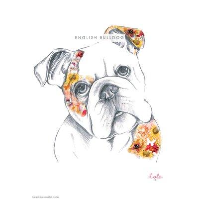 House Additions Dog Prints English Bulldog Art Print