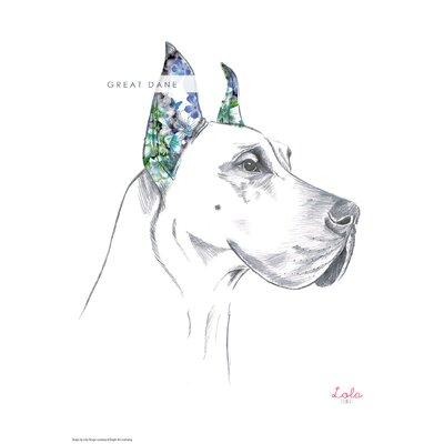 House Additions Dog Prints Great Dane Art Print