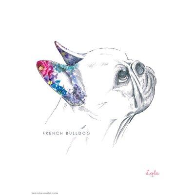 House Additions Dog Prints French Bulldog Art Print