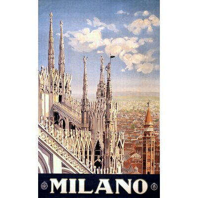 House Additions Vintage Travel Milano Vintage Advertisement
