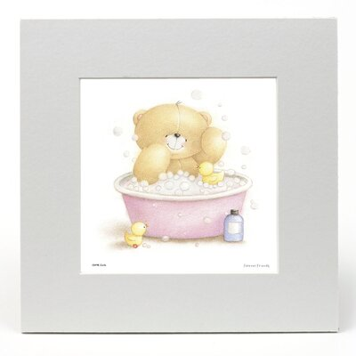"House Additions Forever Friends ""Bathtime"" Graphic Art"
