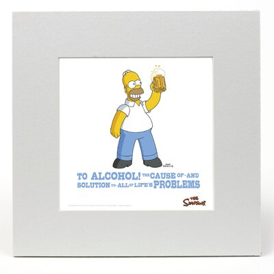 """House Additions The Simpsons """"Homer"""" Graphic Art"""