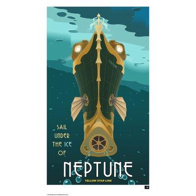 House Additions Retro Futurism Neptune Vintage Advertisement