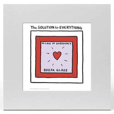 House Additions Edward Monkton The Solution to Everything Art Print