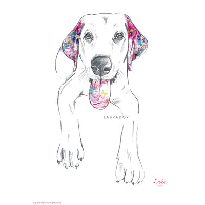 House Additions Dog Prints Labrador Art Print