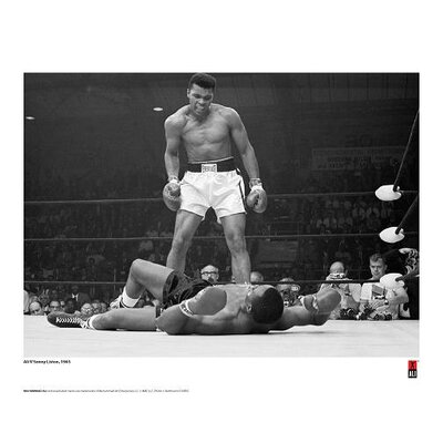 House Additions Muhammad Ali First Minute, First Round Photographic Print