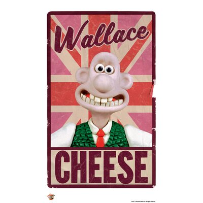 House Additions Wallace and Gromit Love Britain Love Cheese Vintage Advertisement
