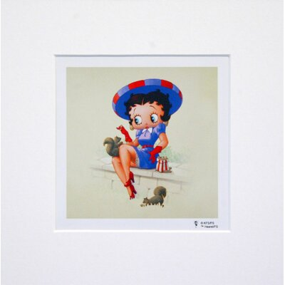 House Additions Betty Boop Feeding Squirrels Graphic Art