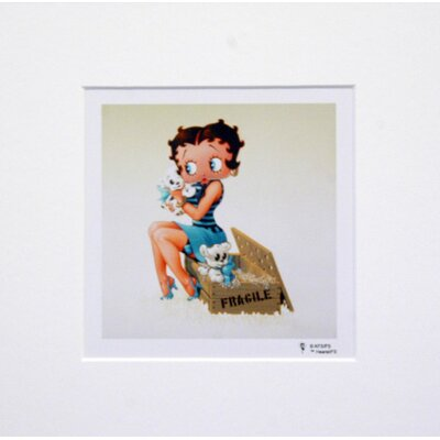 House Additions Betty Boop with Puppies Graphic Art