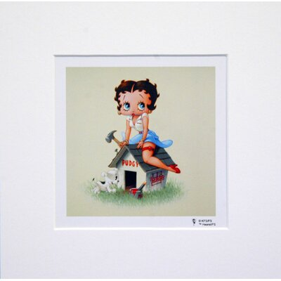 House Additions Betty Boop Dog House Graphic Art