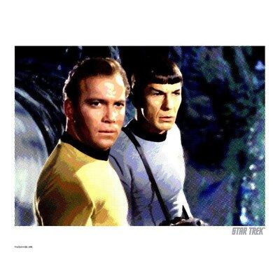 House Additions Star Trek Kirk and Spock Vintage Advertisement