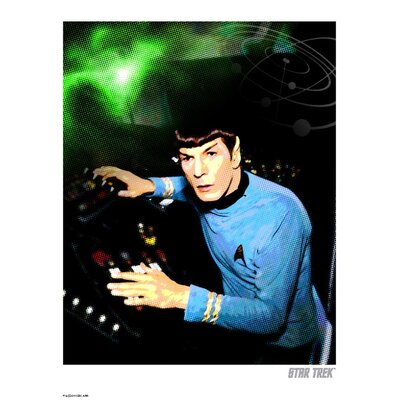 House Additions Star Trek Spock at Console Vintage Advertisement