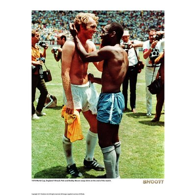 House Additions Shoot Pele and Bobby Moore Photographic Print