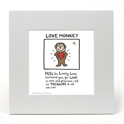 House Additions Edward Monkton Love Monkey Art Print