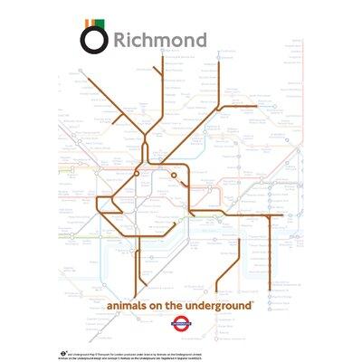 House Additions Animals on the Underground Richmond Graphic Art