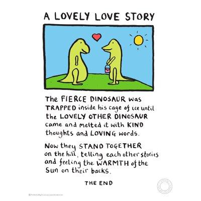 House Additions Edward Monkton Lovely Love Story Art Print